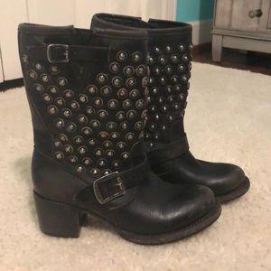 Frye Jenna Disc Studded Boots